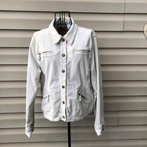 Levi's women's cream colored corduroy jacket